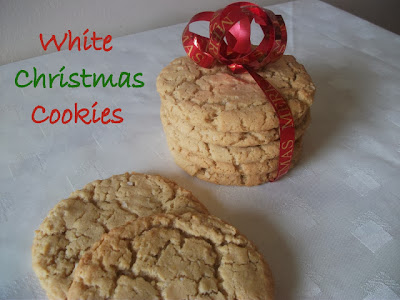 Christmas cookies, White Christmas