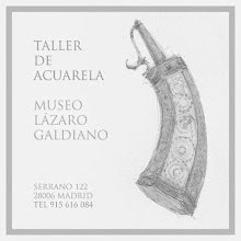TALLER DE ACUARELA EN EL MUSEO LAZARO GALDIANO