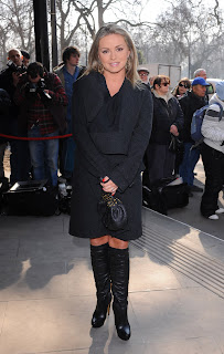 Ola Jordan at the Tric Awards