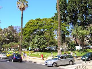 Jardim de São Francisco, Funchal, Madeira, Portugal, La vuelta al mundo de Asun y Ricardo, round the world, mundoporlibre.com