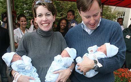 News Feed Identical Quadruplets Born