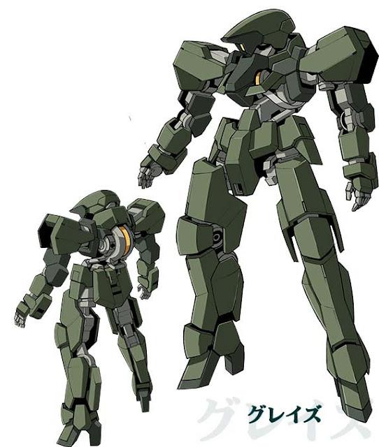 Mobile Suit Gundam: Iron-Blooded Orphans Mobile Suit Grace official Mobile Suit design image 00