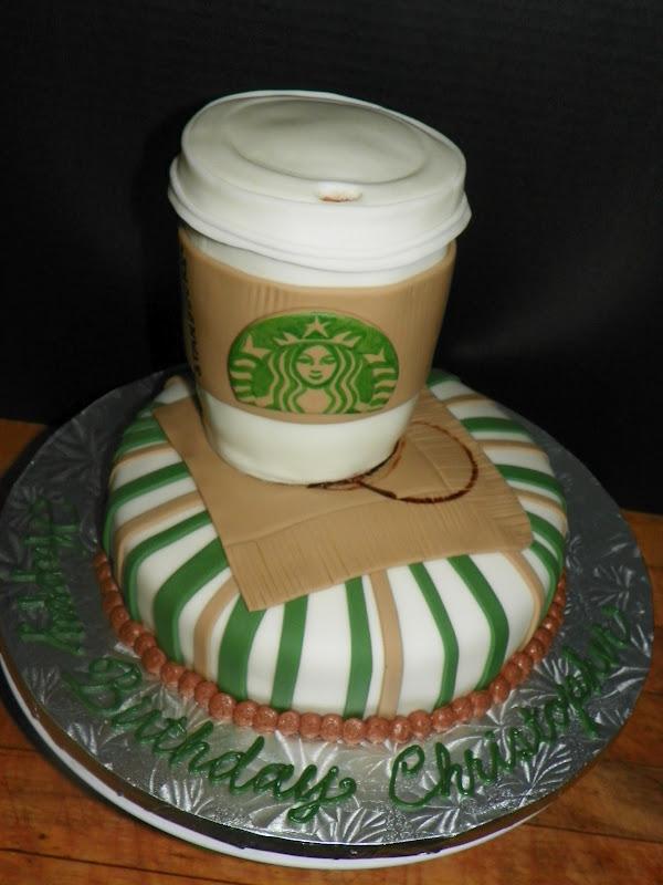Plumeria Cake Studio Starbucks Cup Birthday Cake