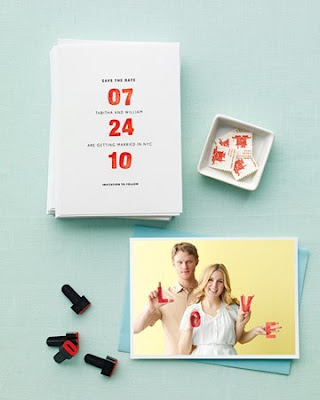 creative+save+the+date+ideas+DIY+stamps+martha+stewart+weddings Wedding Inspiration: Creative Save the Dates {Round 2}