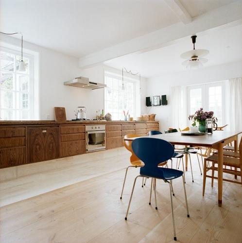 åpent hus: gammelt på kjøkkenet / vintage feel kitchens