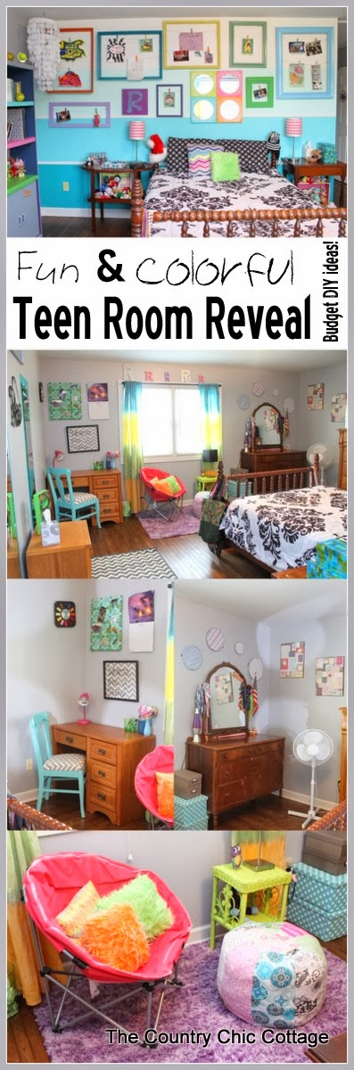 Diy Room Decor For Teens A Fun And Colorful Teen Room