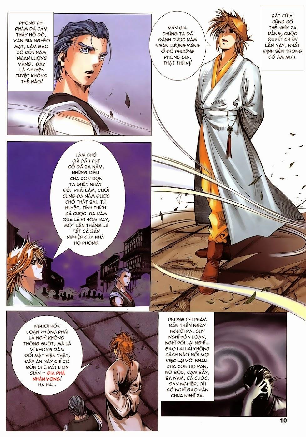 Lục Đạo Thiên Thư chap 14 - Trang 10
