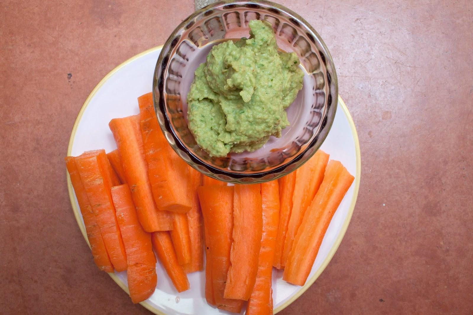 FOOD : QUACAHOUMOUS RECIPE (QUACAMOLE HOUMOUS)
