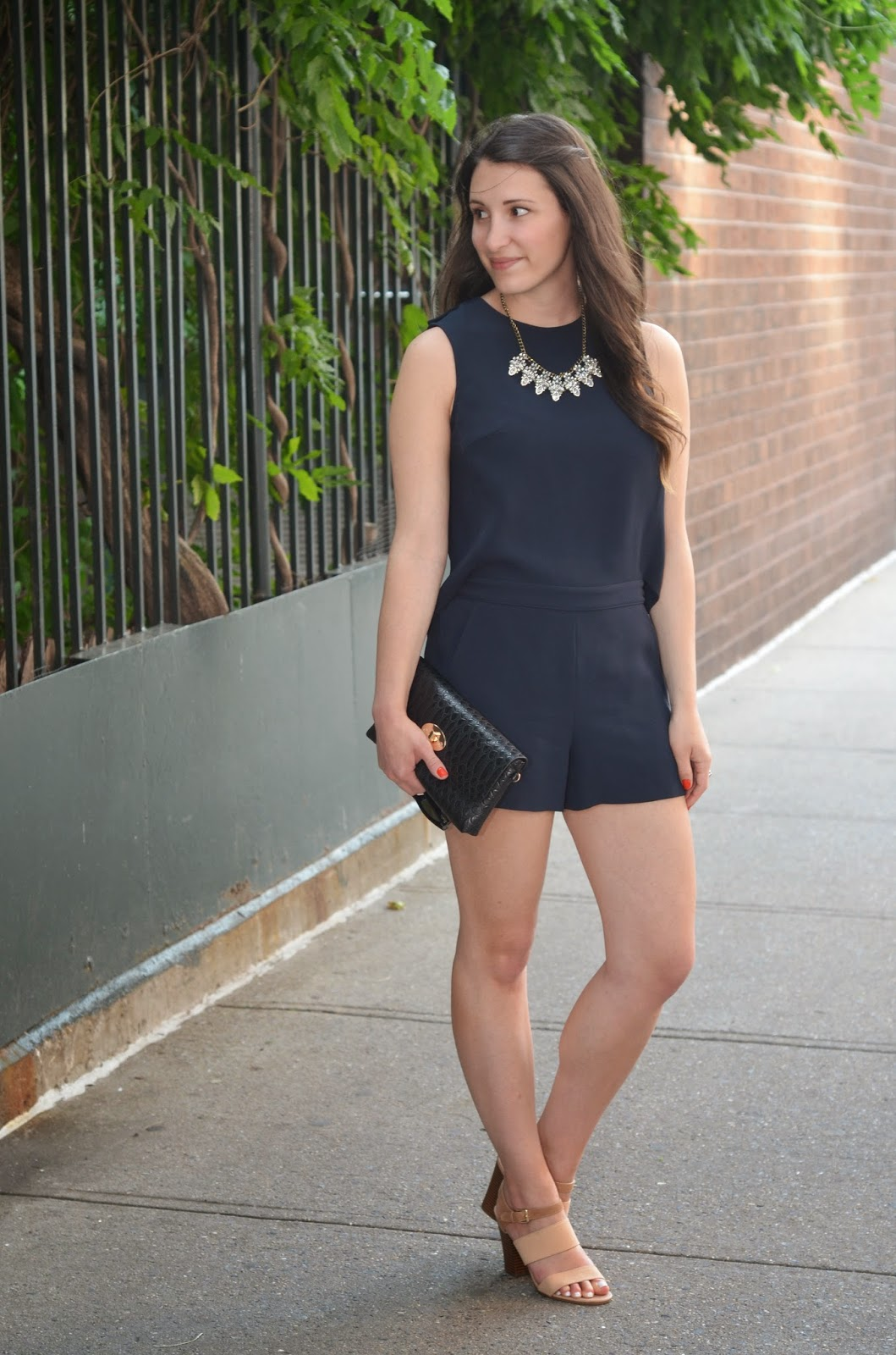 romping around | club monaco lyndsey romper