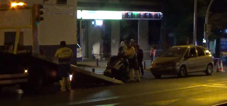 Nuevo accidente de moto en Marqués de Viana