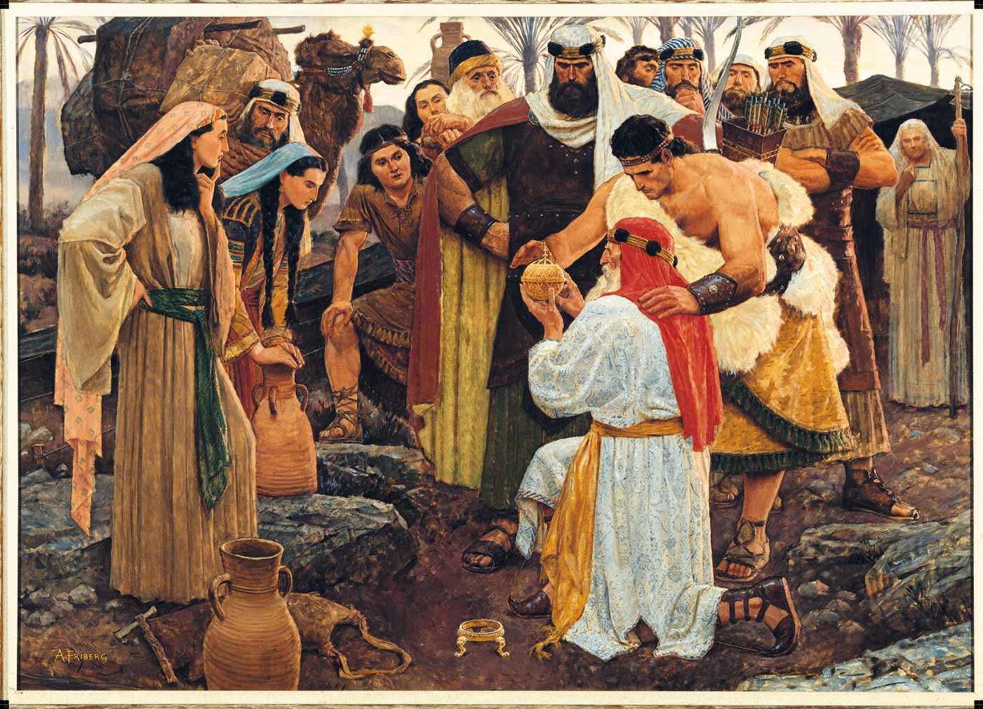Arnold Friberg Book of Mormon Paintings