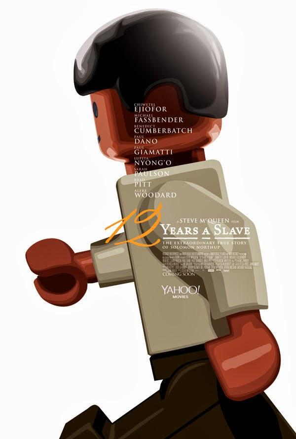Poster Lego - 12 años de Esclavitud
