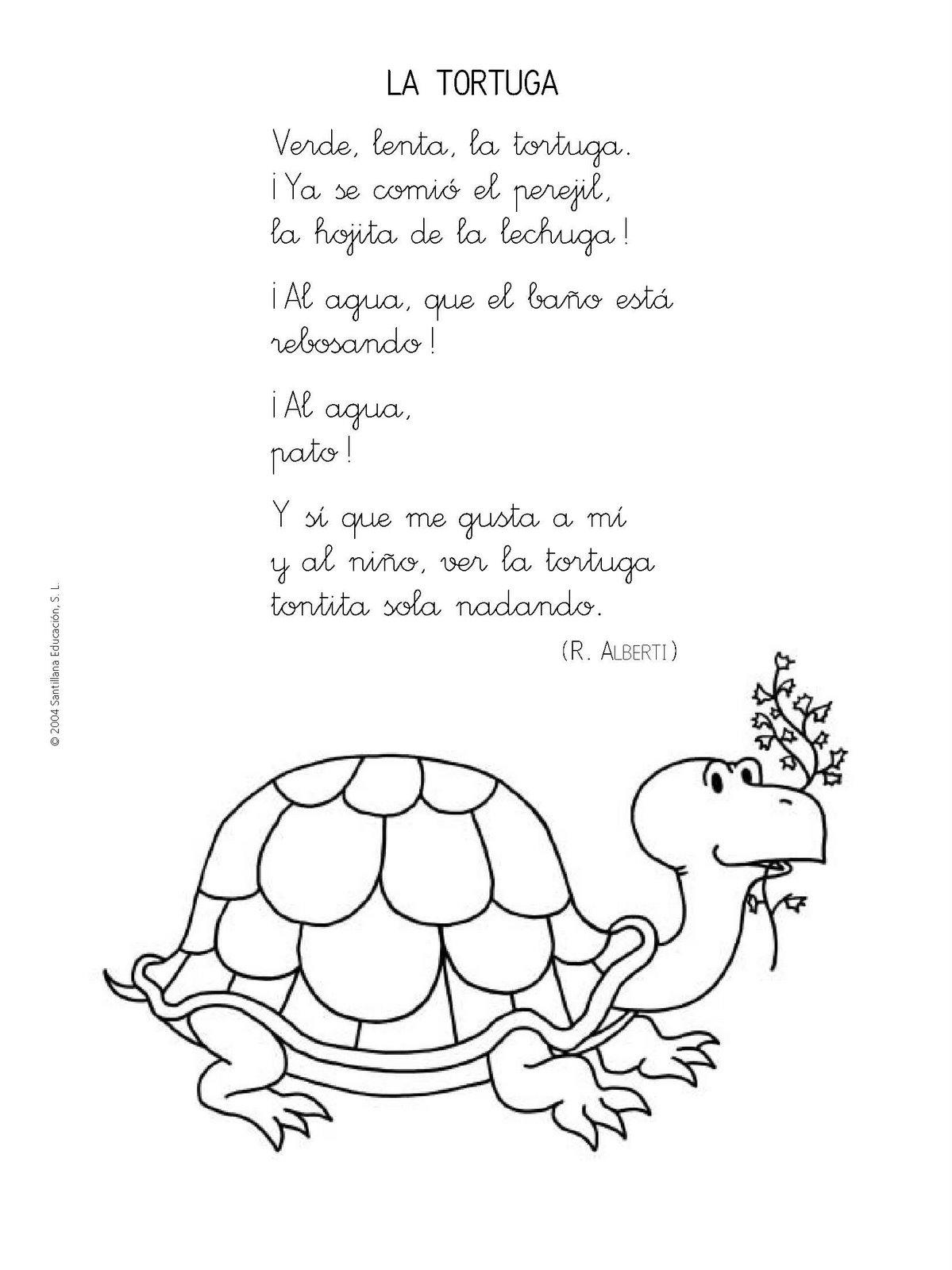 Menta Más Chocolate - RECURSOS PARA EDUCACIÓN INFANTIL: Poesías y