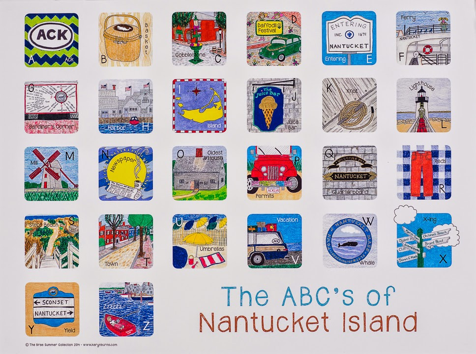 Karyn Burns Summer 2014 Collection | Nantucket
