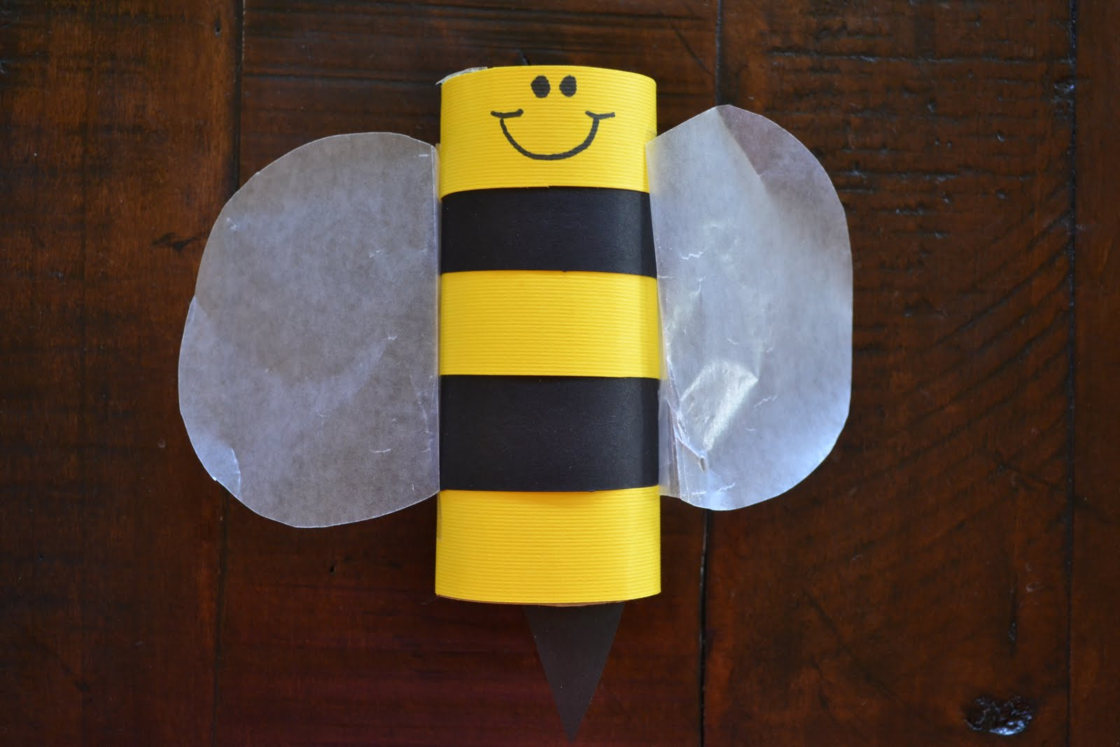 Coloring pages shapes ms7 fisher price - Toilet Paper Roll Bee