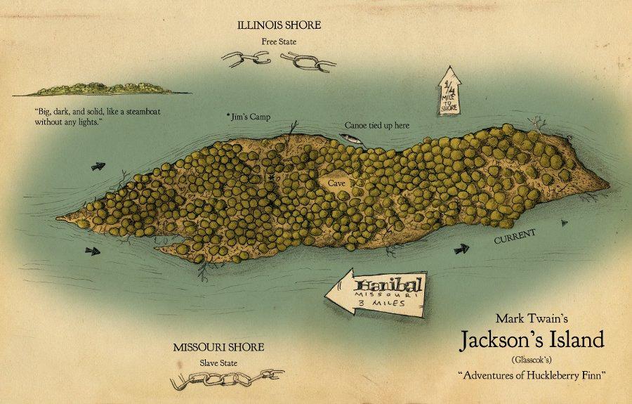 Huckleberry Finn Jackson S Island