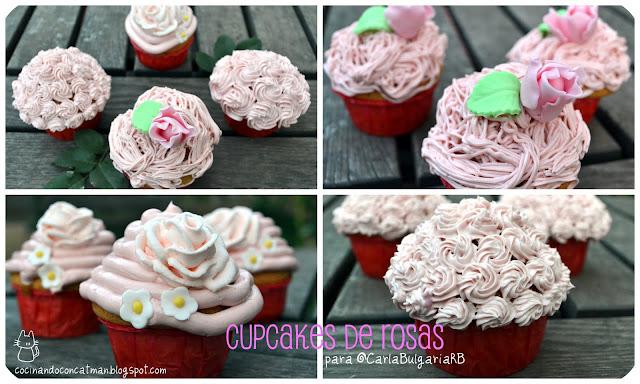 cukcakes de rosas