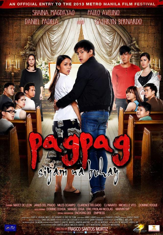 PAGPAG SIYAM NA BUHAY Official Movie Poster Kathryn Bernardo Daniel Padilla 2013