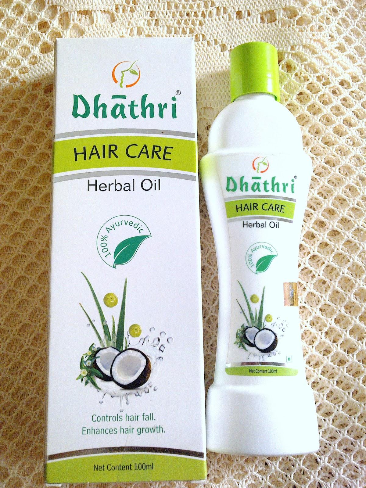 how to use dhathri hair oil