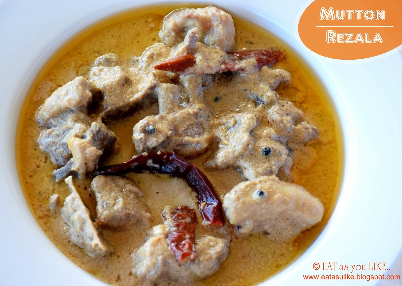Mutton Rezala