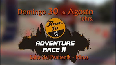 15k y 8k Runfit Adventure Race Salto del Penitente (Lavalleja, 30/ago/2015)