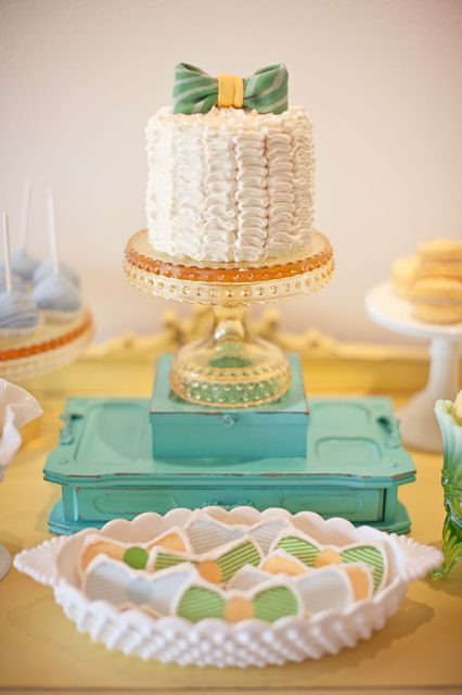blog archiv bow tie baby shower