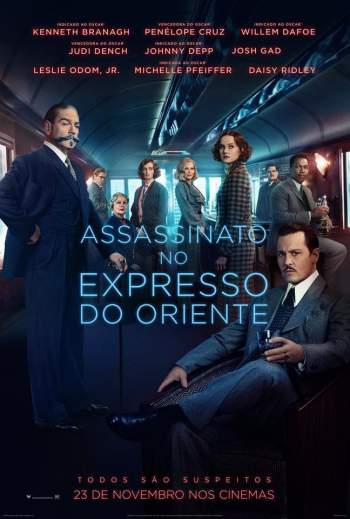 Assassinato no Expresso do Oriente 4K Torrent – BluRay 2160p Dual Áudio