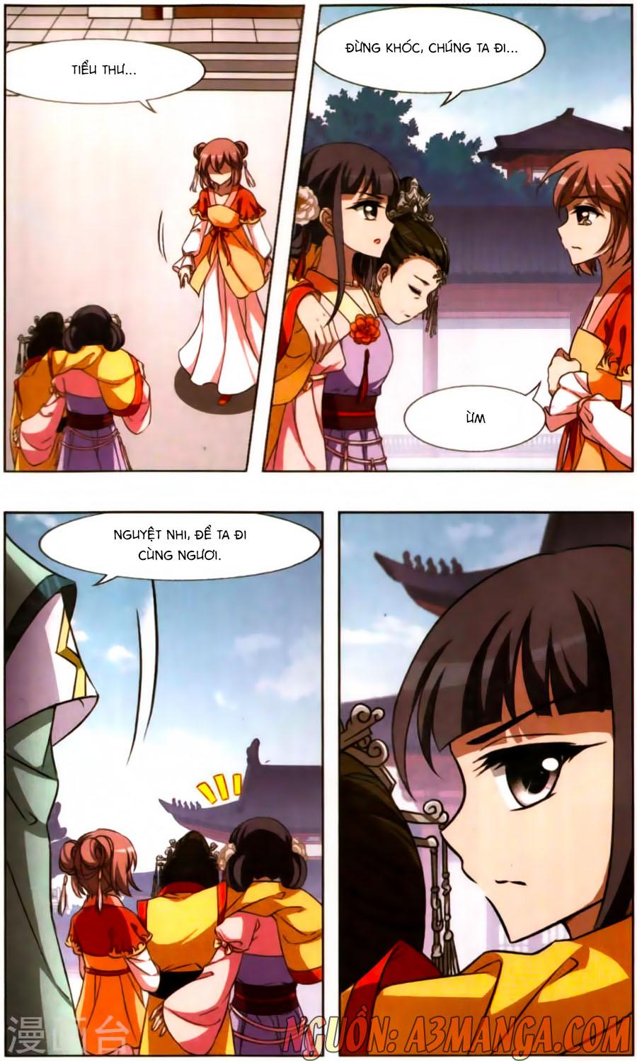 Phượng Nghịch Thiên Hạ Chap 171.5 page 11