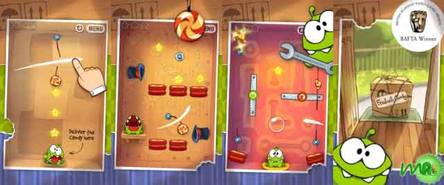 Cut the Rope 2.3.2 APK Screenshots