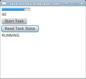 JavaFX example: Task