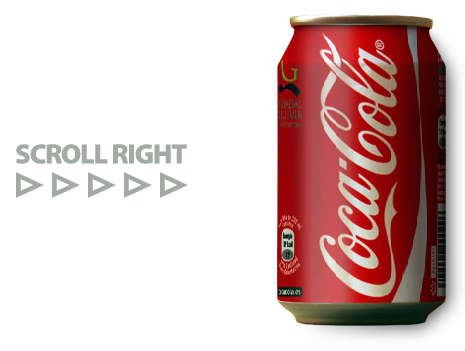 Coca Cola Can Animation