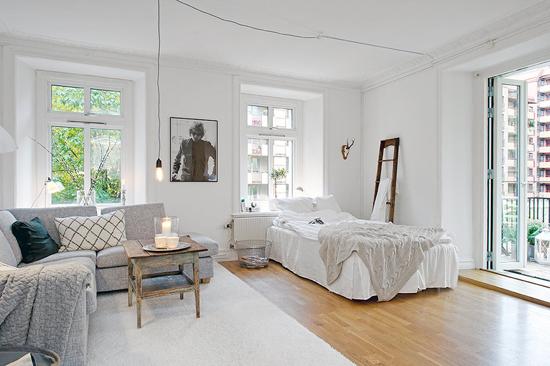Small Cozy Apartment A Small Cosy Apartment  Interior Decorating Home Design Room Ideas