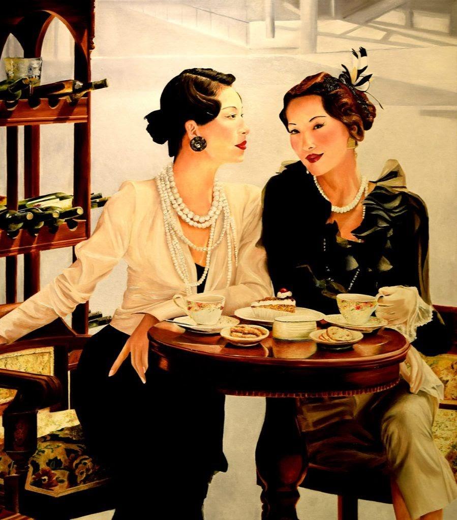 Marie Claire Houmeau Cafe le Progr C As Paris