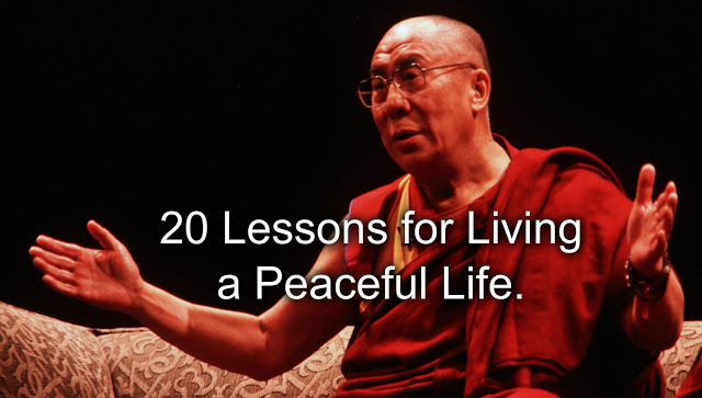 The Dalai Lama 20 Lessons for Living a Peaceful Life
