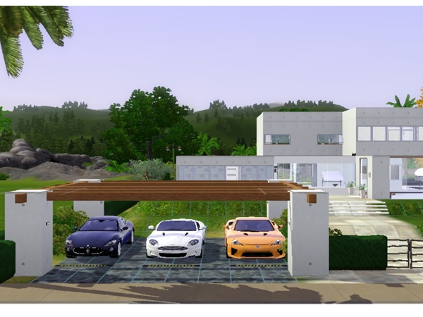 Modern house plans for the sims 3 House interior