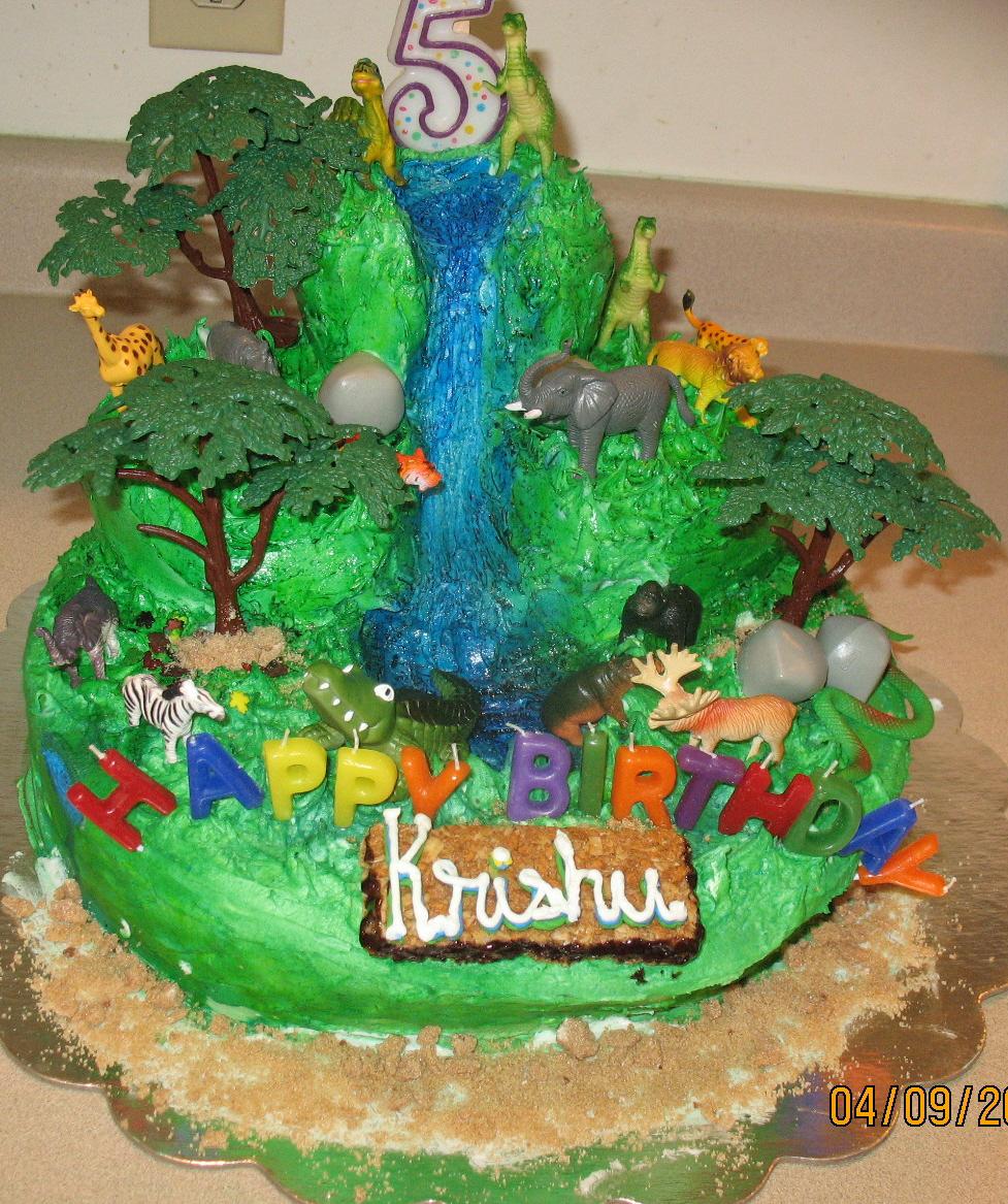 Safari B'dy Cake