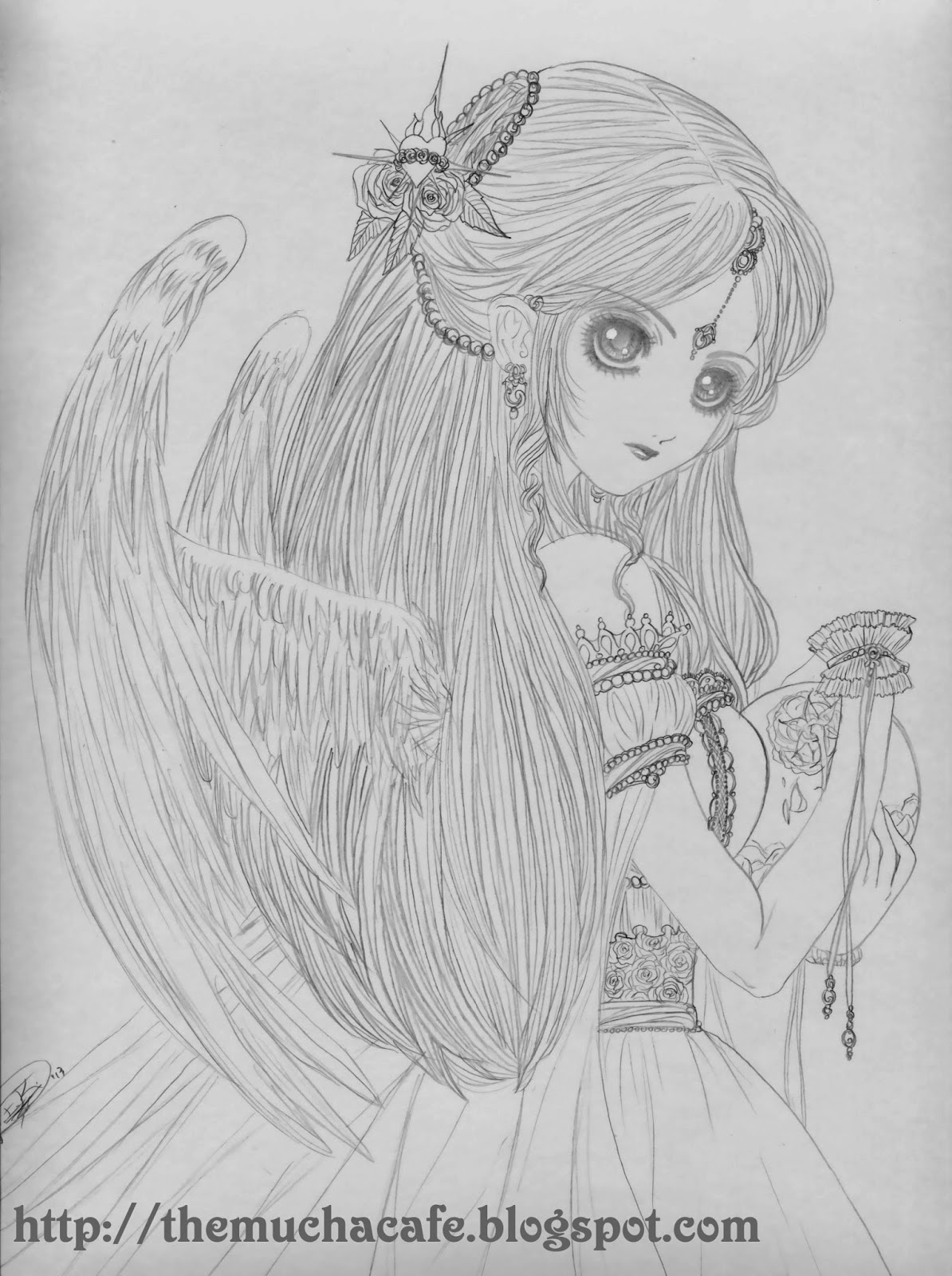 Displaying 18 gt images for sad angel pencil drawings simple pencil sketches of angels
