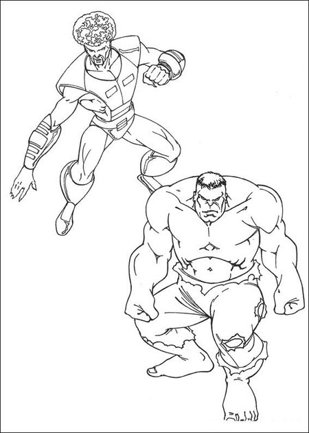 Avengers Coloring Pages To Print