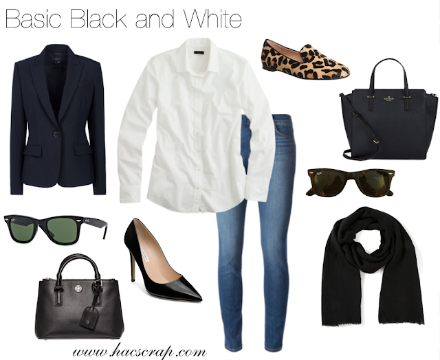 Stype Tips for Wearing Black and White