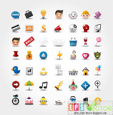 [Vector] - Internet - Website icons set