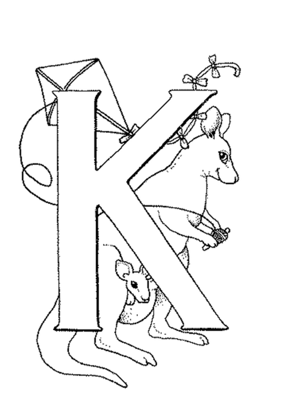 alphabets - coloring pictures
