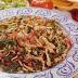 Romeritos a la mexicana con pollo