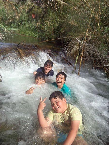 En el río!
