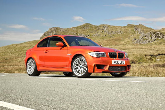 2011 BMW 1 series M coupe Rear View