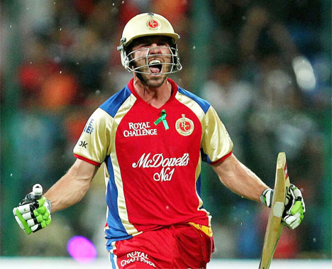 sports club ab de villiers in ipl images 2012