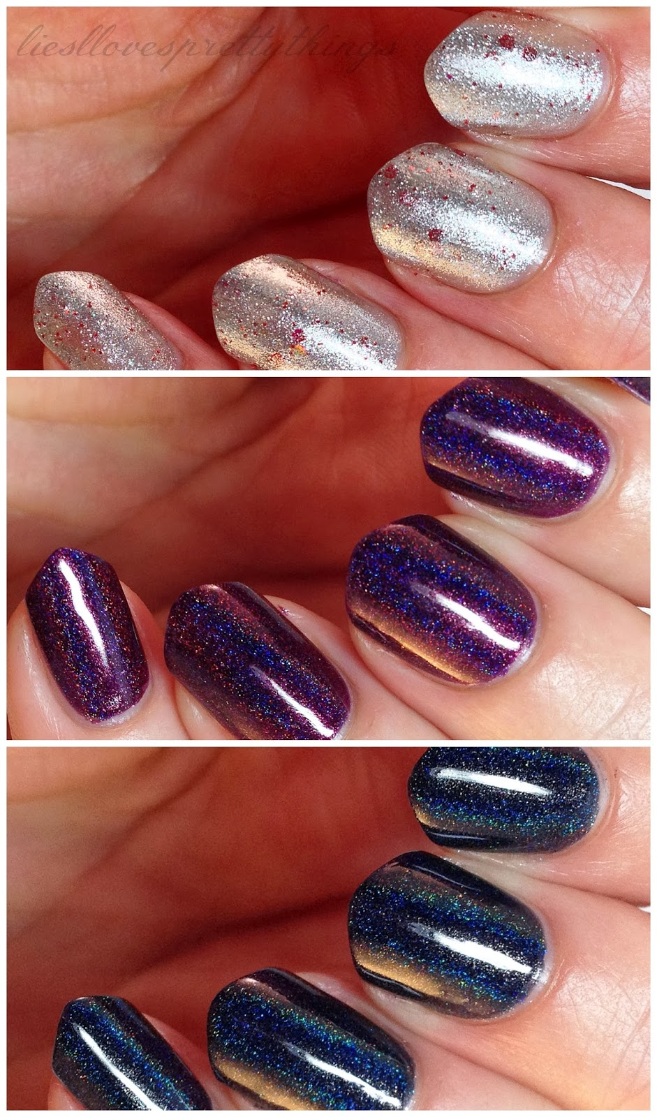 Celestial Cosmetics nail polish swatch and review