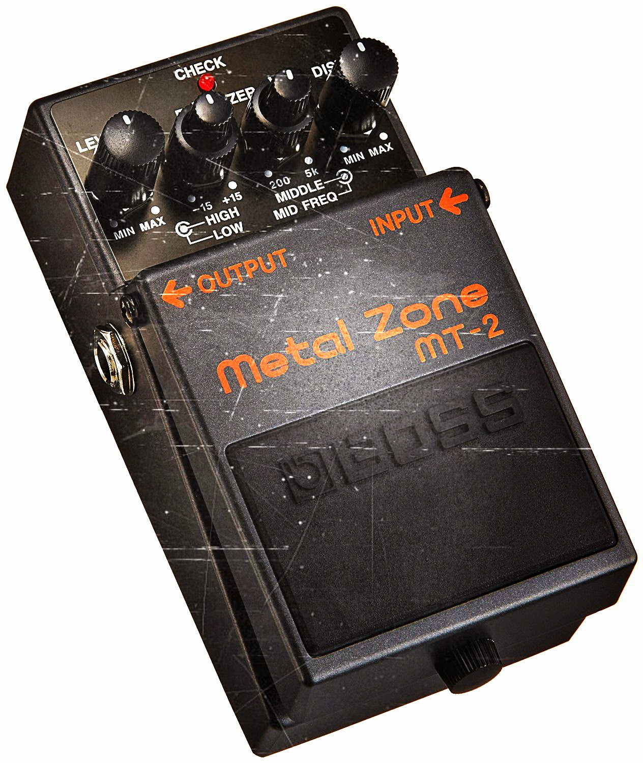 Deal on a Boss MT-2 Metal Zone Distortion Pedal
