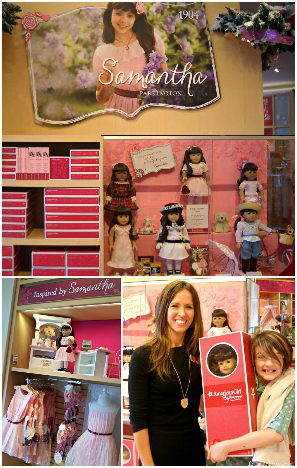 Samantha Parkington is released from the American Girl archives with the new BeForever line.