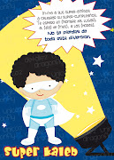 Super Invitaciones para niños! inv qmpl superklb black