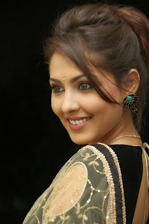 Actress Madhu Shalini Latest Pictures in Saree at Seethavalokanam Press Meet  031.jpg